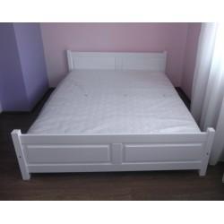 """Łóżko sosnowe """"Kwadrat"""" z..."""