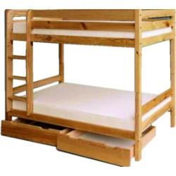 Piętrowe łóżko sosnowe...