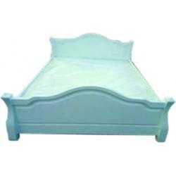 Łóżko stylowe z litego...