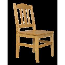 Krzesło z drzewa sosnowego...