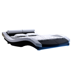 Łóżko tapicerowane KM7