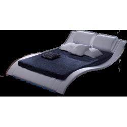 Łóżko tapicerowane KM10 z...