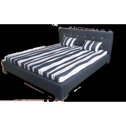 Łóżko tapicerowane ROXY 1 z...