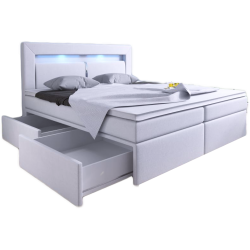 Łóżko tapicerowane z...