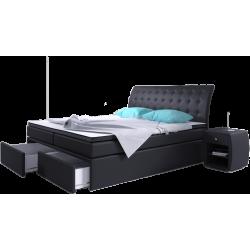Łóżko tapicerowane ROXI z...