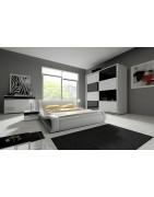 Komplety sypialniane, sypialnie tapicerowane